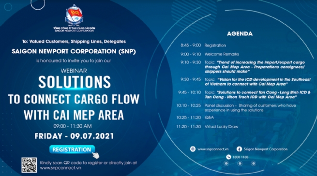 Seeking Solutions to Connect Cargo Flow with Cai Mep Area